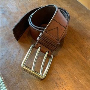 {Michael Kors}  Full Grain Leather Belt